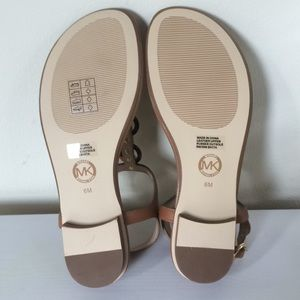 c43f97992b4 MICHAEL Michael Kors Shoes - MICHAEL Michael Kors Mahari Leather Thong  Sandal 6